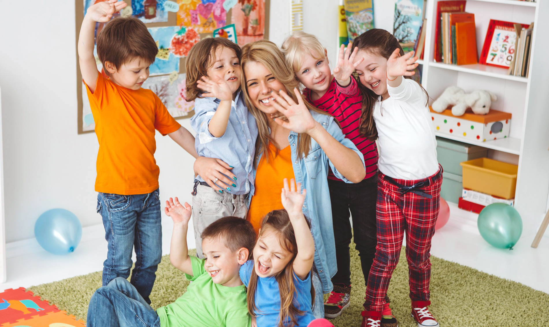 kindergarten day mother